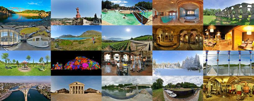 Visite virtuelle à Lyon et dans toute la France. Photo 360 pour le tourisme.