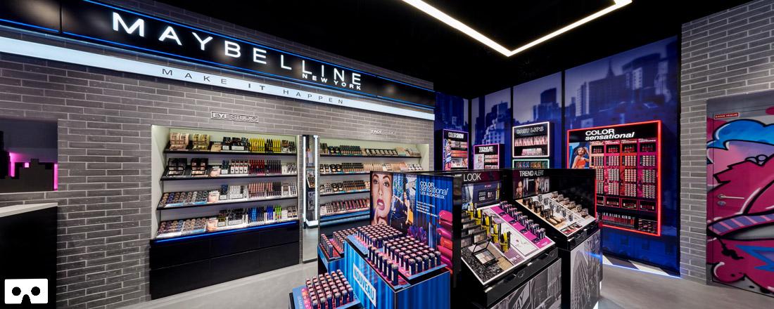 Boutique L'Oréal Maybelline // 3D VR
